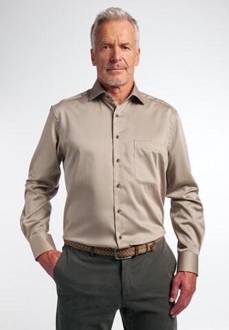 ETERNA Langarm Hemd COMFORT FIT in Beige