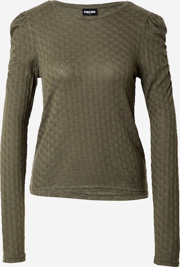 PIECES Shirt 'FIOLAN' in khaki, Produktansicht