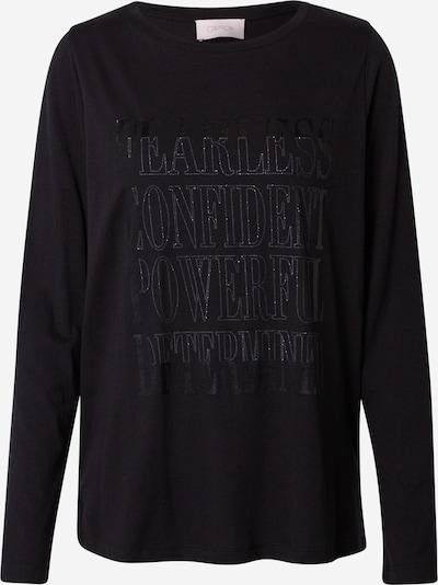 Cartoon Shirt in silbergrau / schwarz, Produktansicht