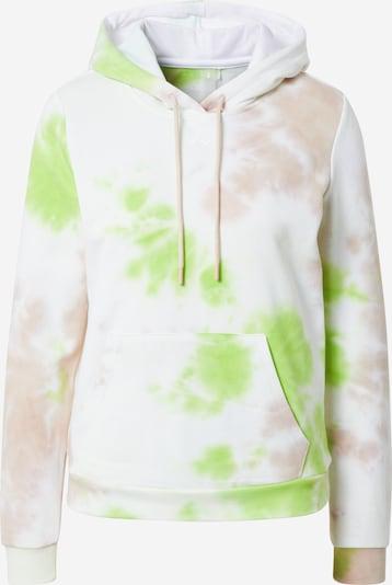 ONLY PLAY Sportsweatshirt 'MANU' in hellbeige / hellgrün / puder, Produktansicht
