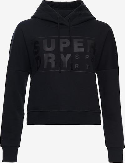 Superdry Kurzhoodie 'Core' in schwarz, Produktansicht