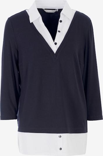 HELMIDGE Blouse in de kleur Navy / Wit, Productweergave