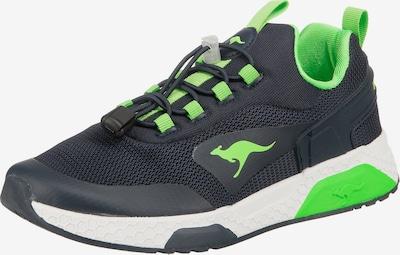 KangaROOS Sneaker 'Kadee Bop' in navy / limette, Produktansicht