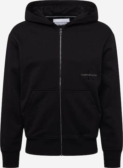 Calvin Klein Jeans Collegetakki värissä musta / valkoinen, Tuotenäkymä