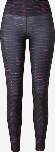 Reebok Sport Sporthose in blau / pink / schwarz, Produktansicht