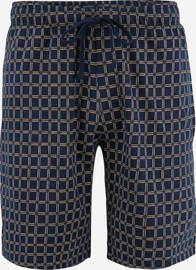 SCHIESSER Pyjamahose in nachtblau / gelb / weiß, Produktansicht