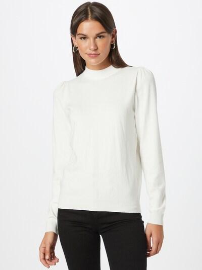 NÜMPH Sweter 'BAOJIN' w kolorze białym, Podgląd na modelu(-ce)
