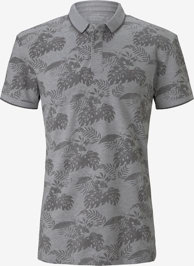 TOM TAILOR DENIM T-Shirt en gris / gris foncé: Vue de face