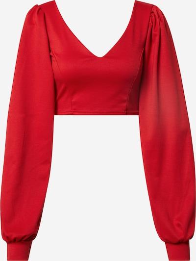 Tricou 'Emma' Femme Luxe pe roșu, Vizualizare produs