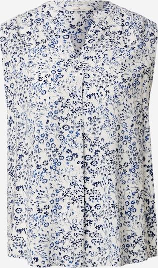 TOM TAILOR Bluza | modra / bela barva, Prikaz izdelka