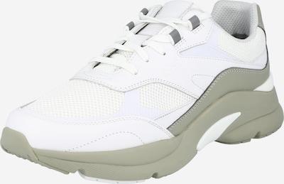 BOSS Casual Baskets basses 'Ardical' en gris / blanc, Vue avec produit