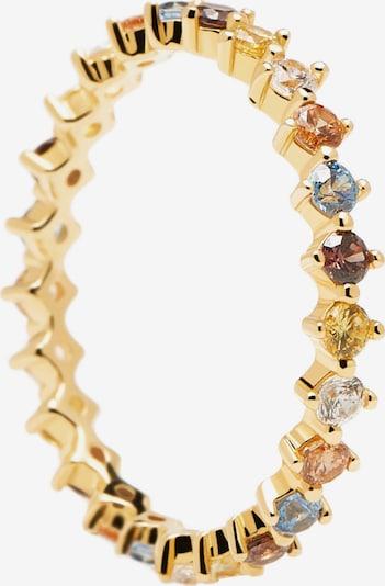 P D PAOLA Anillo en dorado / mezcla de colores, Vista del producto