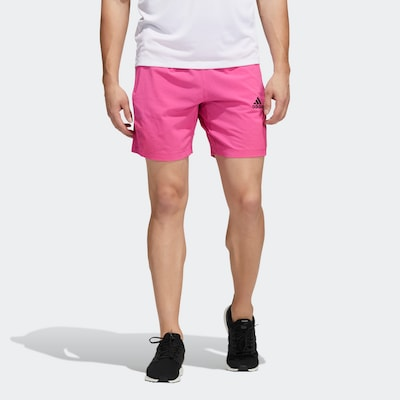 ADIDAS PERFORMANCE Športové nohavice - ružová / čierna, Model/-ka