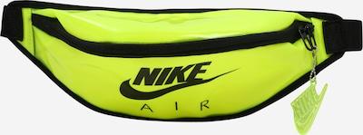 Nike Sportswear Gürteltasche 'Heritage' in neongelb / schwarz, Produktansicht