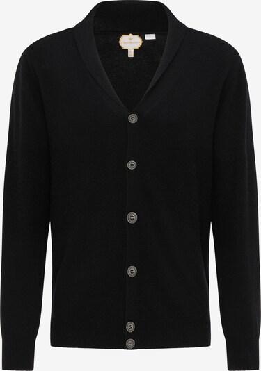 Geacă tricotată DreiMaster PREMIUM pe negru, Vizualizare produs
