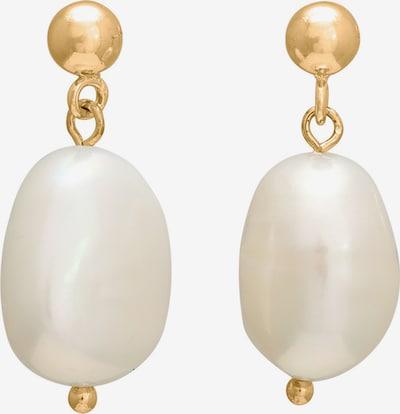 Nordahl Jewellery Boucles d'oreilles 'Baroque52' en or / blanc, Vue avec produit