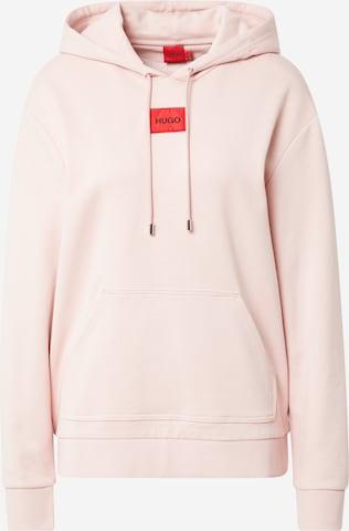 HUGO Sweatshirt 'Dasara' in Pink