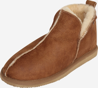 SHEPHERD OF SWEDEN Slipper in Cognac, Item view