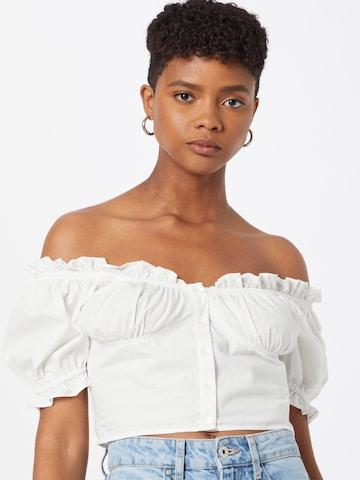 Gina Tricot Blouse 'Matilda' in White