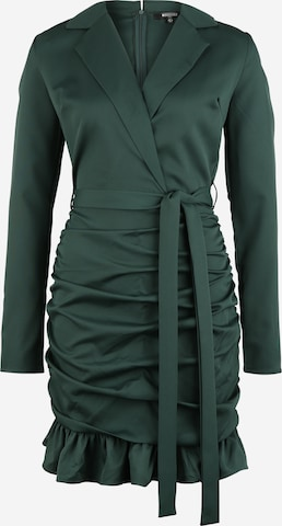 žalia Missguided Tall Palaidinės tipo suknelė