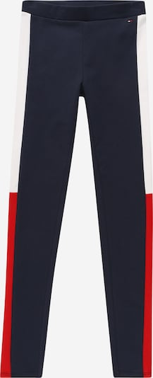 TOMMY HILFIGER Leggings in navy / rot / weiß, Produktansicht