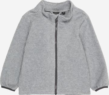 NAME IT Fleece Jacket 'SPEKTRA' in Grey
