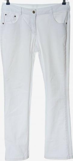 Basic Line Straight-Leg Jeans in 30-31 in weiß, Produktansicht