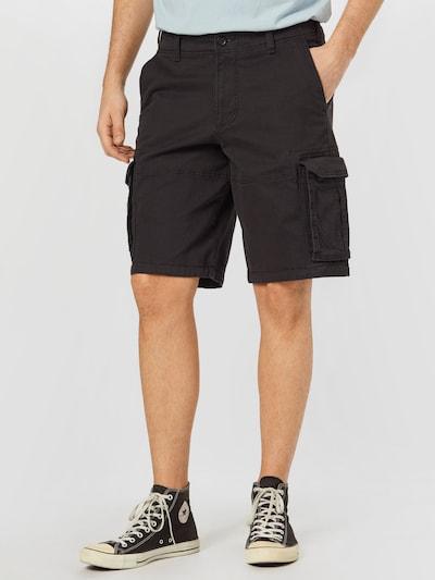 HOLLISTER Pantalón cargo en negro, Vista del modelo