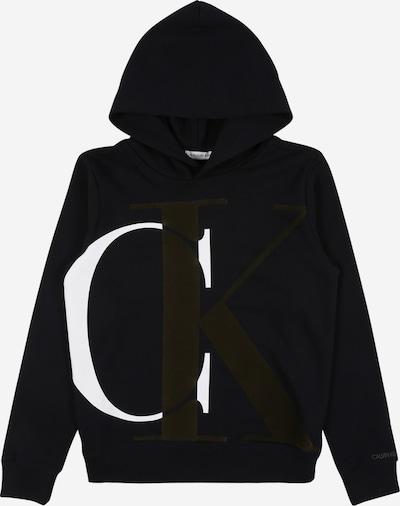 Calvin Klein Jeans Sweat 'EXPLODED' en noir, Vue avec produit