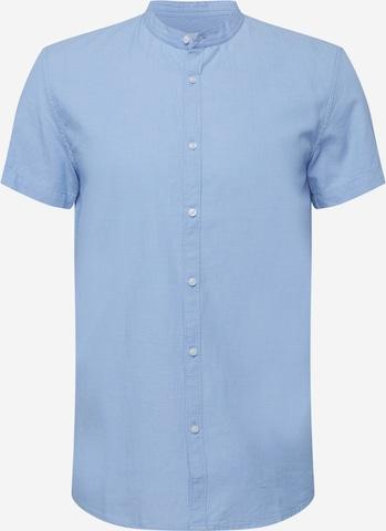 TOM TAILOR DENIM Button Up Shirt in Blue