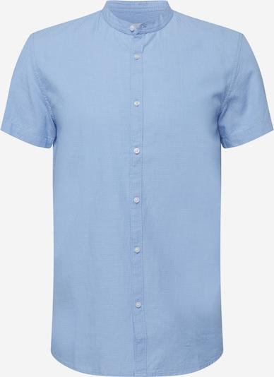 TOM TAILOR DENIM Overhemd in de kleur Hemelsblauw / Wit, Productweergave