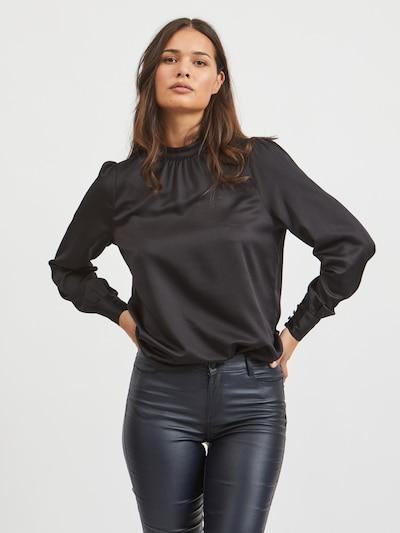VILA Bluse 'Ladee' in schwarz, Modelansicht