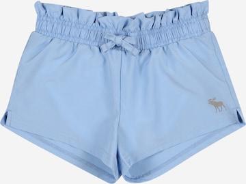 Abercrombie & Fitch Shorts in Blau