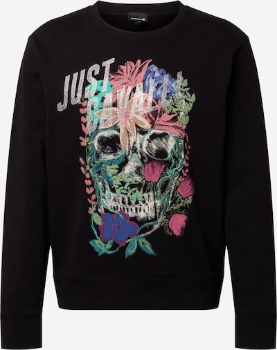 Just Cavalli Sweatshirt i blandingsfarvet / sort, Produktvisning