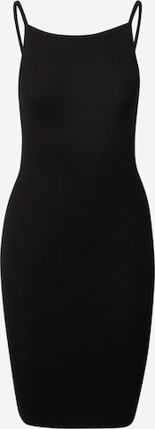 24COLOURS Kleid in Schwarz