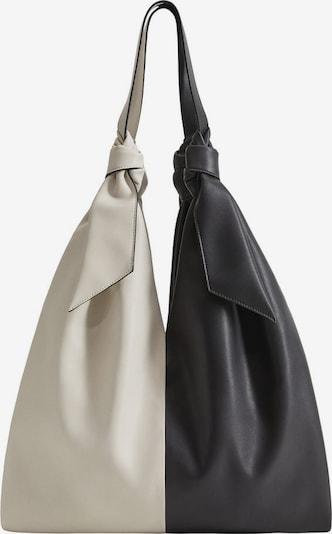 MANGO Tasche 'Min Yin' in schwarz / weiß, Produktansicht