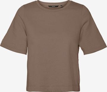 VERO MODA Shirt 'Octavia' in Brown