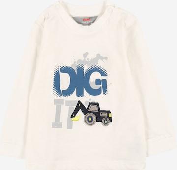 balts KANZ T-Krekls