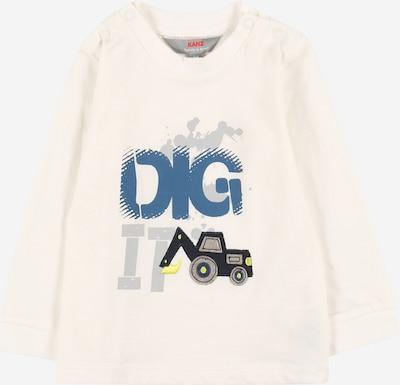Tricou KANZ pe albastru închis / gri / negru / alb, Vizualizare produs
