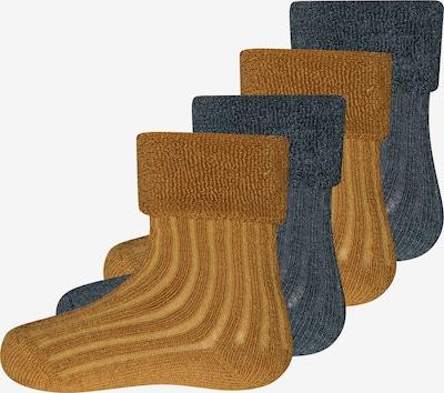 EWERS Sokken in de kleur Karamel / Antraciet, Productweergave