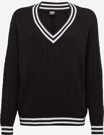 Urban Classics Sweater in black / white, Item view