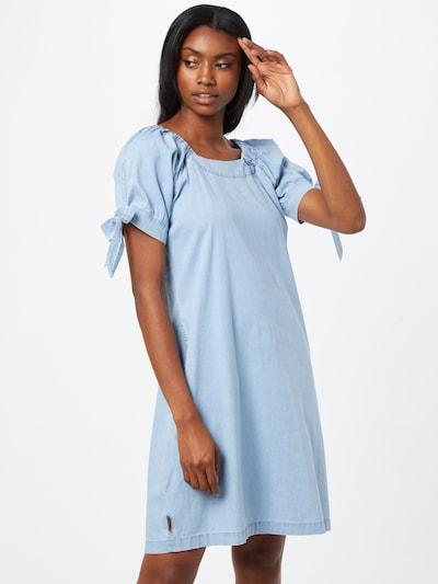 Alife and Kickin Dress 'Annie' in Blue denim, View model