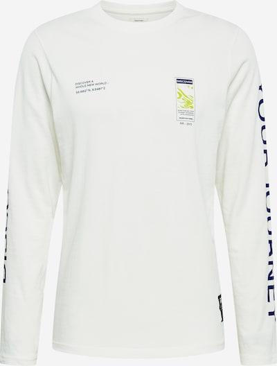 Redefined Rebel T-Shirt 'Musa' en bleu foncé / roseau / blanc, Vue avec produit