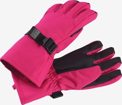 Reima Skihandschuh 'Tartu' in pink / schwarz, Produktansicht