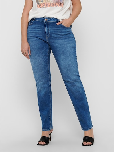 ONLY Carmakoma Jeans 'Laola' in blue denim, Modelansicht