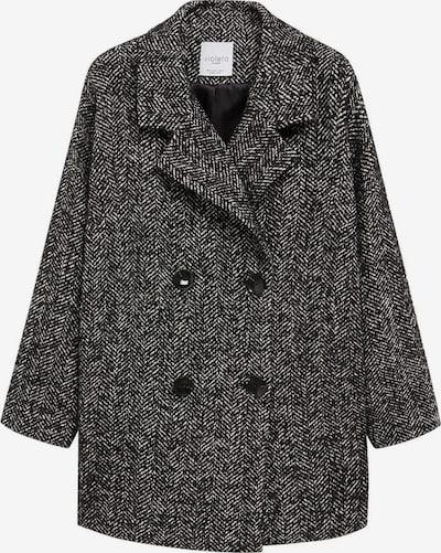Palton de primăvară-toamnă 'Maria' VIOLETA by Mango pe negru / alb, Vizualizare produs