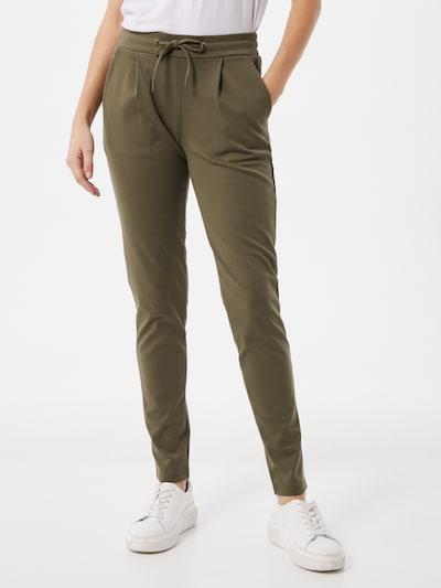 ICHI Pantalón 'Kate' en oliva, Vista del modelo