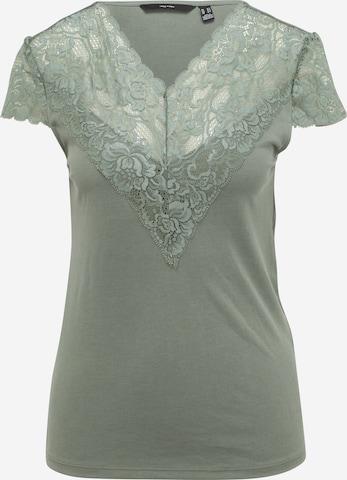 Vero Moda Tall Shirt 'PHINE' in Grün