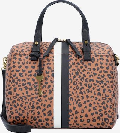 FOSSIL Handtas 'Rachel' in de kleur Bruin / Zwart / Wit, Productweergave