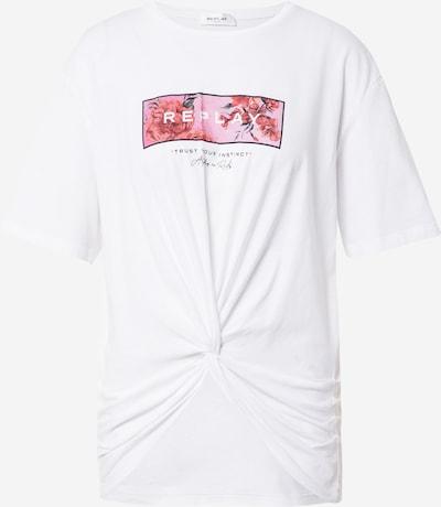 Marškinėliai iš REPLAY , spalva - pilka / rožių spalva / juoda / balta, Prekių apžvalga